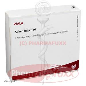 SOLUM INJECT 10 Amp., 50 ml