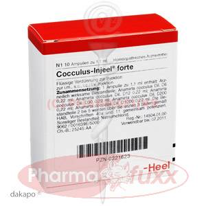 COCCULUS Injeele forte, 10 Stk