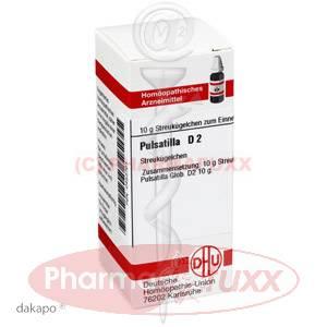 PULSATILLA D 2 Globuli, 10 g