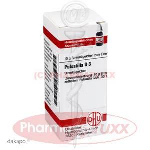 PULSATILLA D 3 Globuli, 10 g