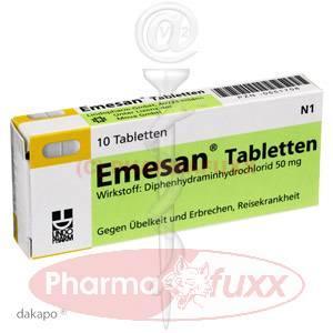 EMESAN Tabletten, 10 Stk