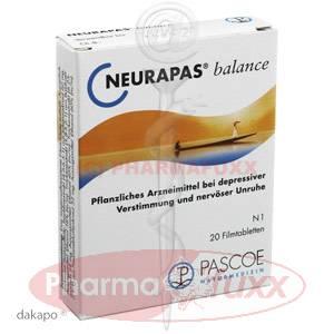 NEURAPAS Balance Filmtabl., 20 Stk