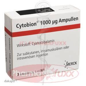 CYTOBION 1000 Ampullen i.m., i.v., s.c., 3 ml
