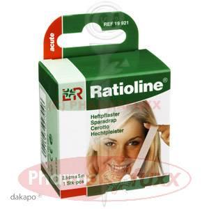 RATIOLINE acute Heftpflaster 2,5cmx5m, 1 Stk