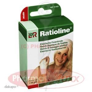 RATIOLINE acute Fixierbinde 8cmx4m, 2 Stk