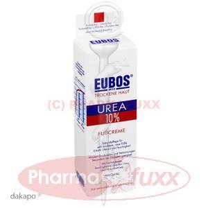 EUBOS TROCKENE HAUT Urea 10% Fusscreme, 100 ml