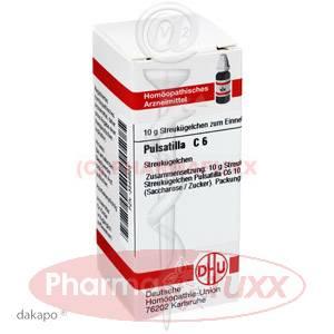PULSATILLA C 6 Globuli, 10 g