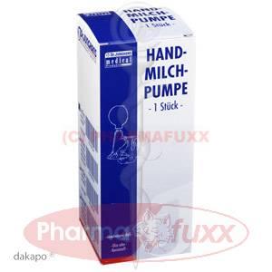 MILCHPUMPE Hand Gummiball mit Glas, 1 Stk