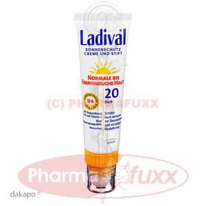 LADIVAL norm.bis empfindl.Haut Creme+Stift LSF20, 30 ml